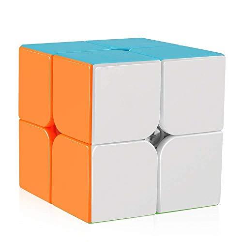 QiYi Qidi Speed Cube Stickerless 2x2 Magic Cube Puzzle