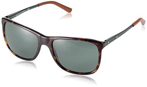 Ralph Lauren homme 0Rl8133Q 500371 57 Montures de lunettes, Marron (Dark  Havana Green 46bba6a3671d