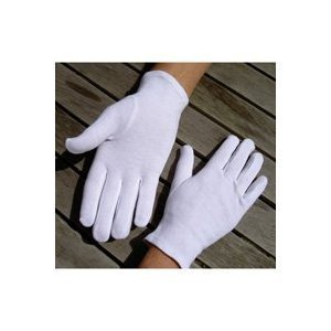 Fulla2116 Baumwollhandschuhe, weich, Größe M, 5 Paar (Gartenarbeit Hand Creme)