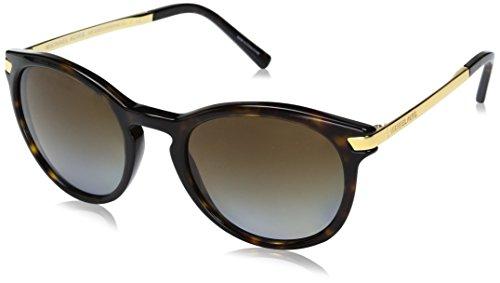 Michael Kors Damen ADRIANNA III 3106T5 53 Sonnenbrille, Dk Tortoise/Gold/Browngradientpolarized,