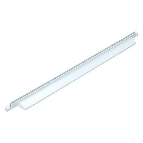 ✧WESSPER® Leiste Schiene Halter Glasplatte vorne Kühlschrank / Gefrierschrank / Kühl-Gefrier-Kombination für Indesit BAAN13 (Länge: 500mm, Hintere)