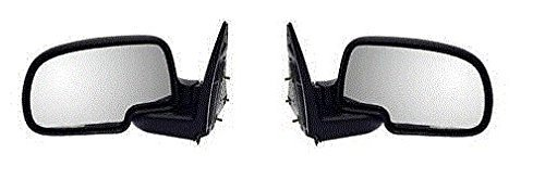 99-00-01-02-03-04-05-06-chevrolet-silverado-gmc-sierra-mirror-pair-set-manual-black-housing-chrome-c