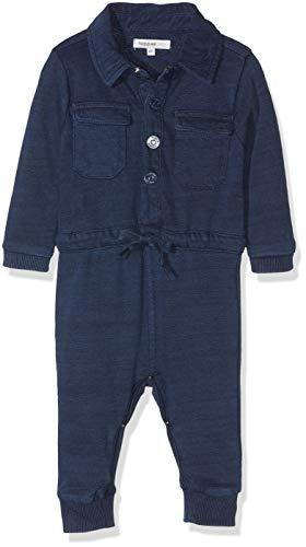Noppies Baby-Jungen Spieler B Playsuit Victor, Blau (Blue Denim C306), 62