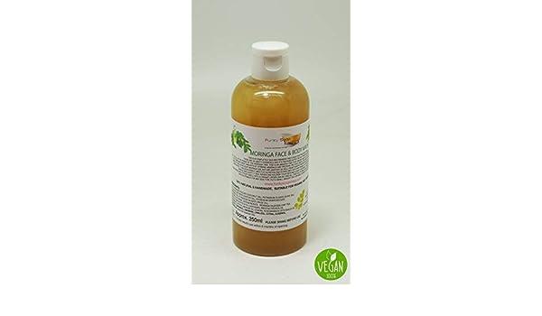 Bagnoschiuma Artigianale : 1 flacone liquido moringa viso e bagnoschiuma 100% naturale senza