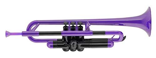pTrumpet 700629 Trompete mit Tasche und Mundstück violett