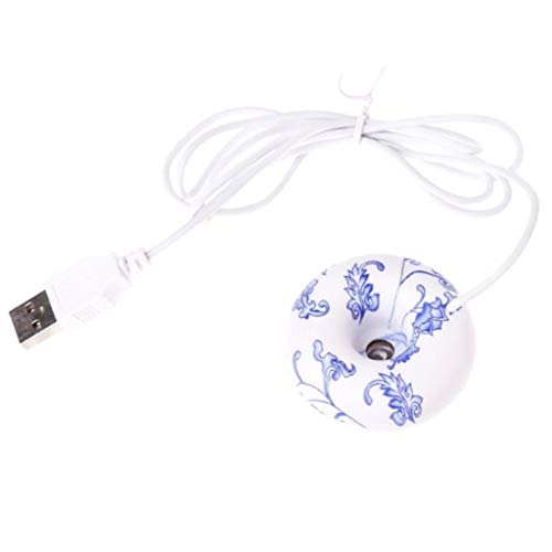 Aroma-super-topf (Homyl Mini Ultraschall Luftbefeuchter Holz Aroma Diffuser Aromatherapie mit USB Kabel - C)