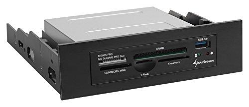 Sharkoon Media Reader IV Interner Kartenleser mit USB 3.0 Buchse