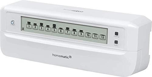 Homematic IP Fußbodenheizungsaktor - 12-fach, motorisch, intelligente Fußbodenheizung auch per App, 153621A0