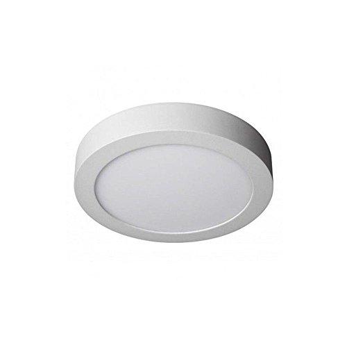 KHEBANG Plafón LED Downlight LED Superficie Circular 12W Luz Neutra 4000K