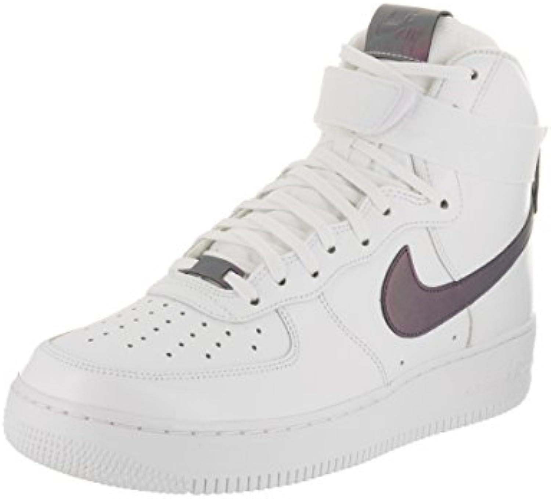 NIKE Men's Air Force 1 High '07 Lv8 White/Multi/Color/White Basketball Shoe 11.5 Men US