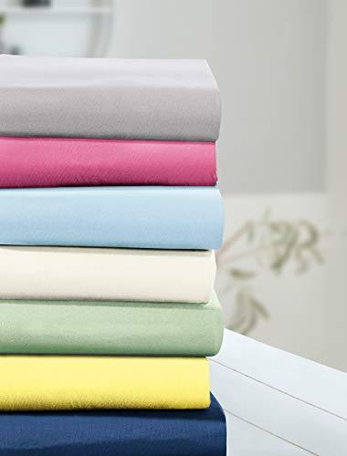 Irisette Parado 0011 Classic-Jersey Spannbettlaken I Größe 150x200 cm I Farbe 31 Lind