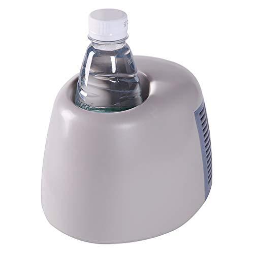 MMLC USB-Heiß- und Kalttasse Smart 2 in 1 Ein-Schlüssel-Kälteheizung Auto-Heiztasse Mini-Kühlschränke (Weiß) - Mini-kühlschrank-schlüssel