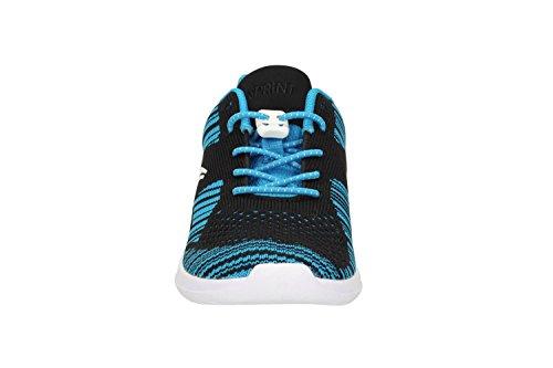 Clarks SprintKnit Jnr Mädchen Sneakers Blue Combi