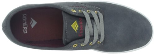 Emerica Laced By Leo Romero-M, Baskets mode homme Gris (Grey/Light Grey/Red)