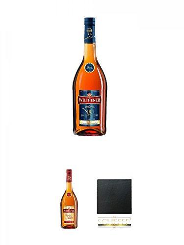 Wilthener XO Nr.1 Weinbrand 0,7 Liter + Wilthener Weinbrand VSOP feiner alter Wilthener 0,7 Liter +...