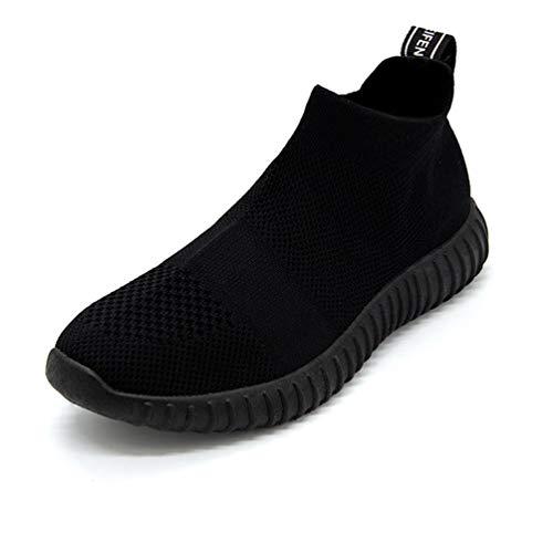 Qianliuk Frauen Laufen Schuhe AtmungsAktive Sport Schuhe Light Athletic Flats Trainer weibliche Socken-Sneaker