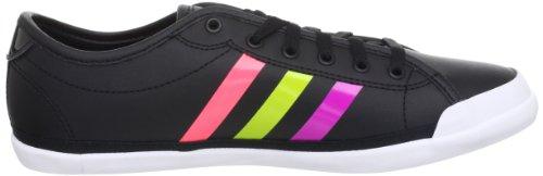 Adidas EZ QT Neo Label W Damen Sneaker Turnschuhe Freizeit schwarz/neon X73597 black1/vivpnk/intlim