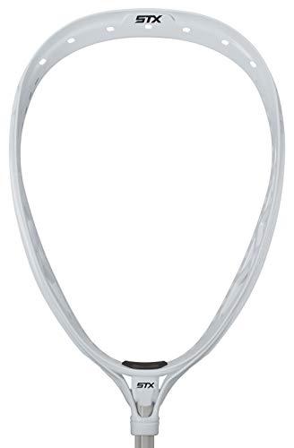 STX Lacrosse Eclipse 2 Strung Goalie Head, White