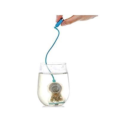 mxdmai Deep Diver infuseur à thé de Feuilles de thé en Vrac saleté à Base de Plantes Spice Filtre diffuseur