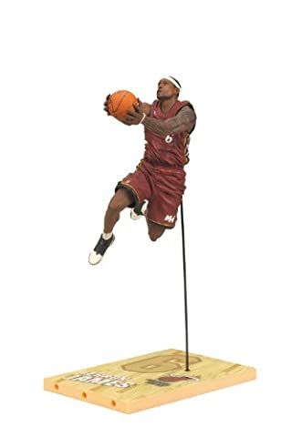 McFARLANE NBA SERIES 19 LeBRON JAMES MIAMI HEAT ACTION FIGURE