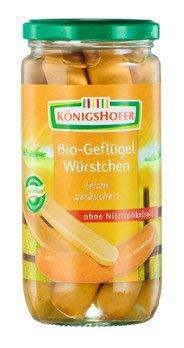 Königshofer Geflügelwürstchen (380 g) - Bio