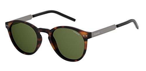 Polaroid pld 1029/s uc, occhiali da sole unisex-adulto, matt havana, 50