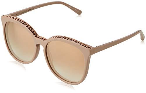 Stella mccartney sc0074s 004 occhiali da sole, rosa (004-pink/gold), 59 unisex-adulto