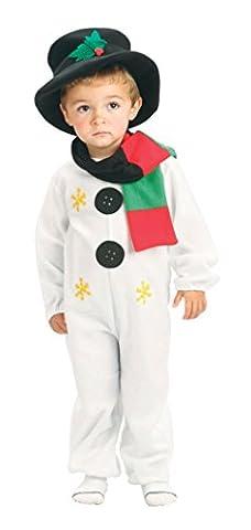 Snowman Toddler 90-104cm costume for Kids Fancy Dress (Halloween-kostüme Für Zwei Kinder)