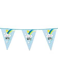 Boland BOL53201 - Guirnalda con banderines para bebé, talla única