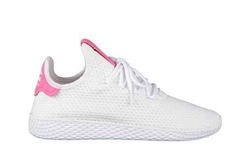adidas PW Tennis Hu, Zapatillas de Deporte para Hombre, Blanco Ftwbla/Seroso, 38 EU