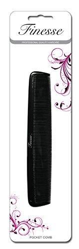 Finesse – Peigne Noir de petite taille de qualité professionnelle
