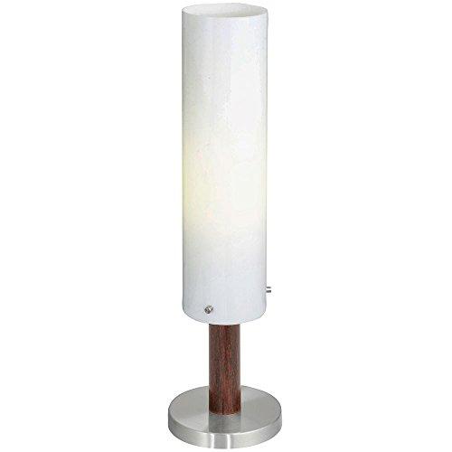 EGLO 89451 Außen Tischleuchte, E27, braun (Deckenfluter Moderne Ist Tischleuchte,)