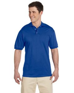 Adult 6.1 oz. Heavyweight Cotton� Jersey Polo ROYAL XL (Adult Polo Jerzees Jersey)