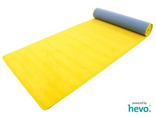 Romeo gelb HEVO ® Teppichläufer 100x300 cm