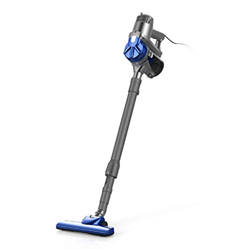 Aspiradora vertical 2 en 1 de mano de alta potencia azul, aspiradora vertical para alfombra, aspiradora portátil multifunción dyson con filtro HEPA (Tamaño : Standard)