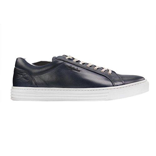 Australian Stratham Leather, Chaussures à Lacets Homme Bleu