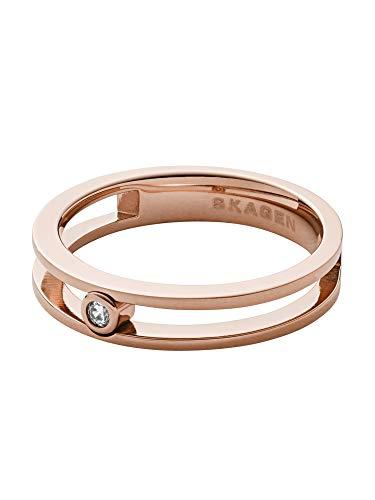 Skagen Damen-Ringe Edelstahl zirkonia '- Ringgröße 53 SKJ1172791-6.5