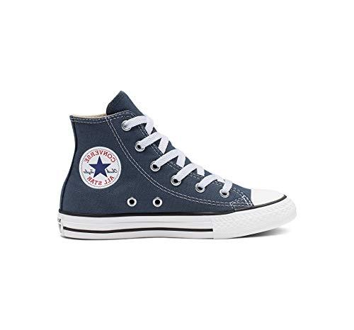 Converse Unisex-Kinder C. Taylor All Star Youth Hi 3J2 Sneaker, Blau (Navy), 30 EU