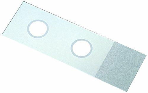 Thomas 2961–001Test Mikroskop Slide mit 15mm Ring, 7,6cm Länge, 2,5cm Breite, 0,96–1,06mm dick (144Stück)