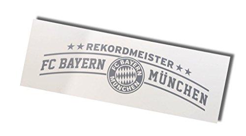 """FC Bayern München Autoaufkleber """"Rekordmeister"""""""