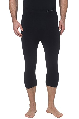 VAUDE Herren Hose Seamless 3/4 Tights, black, 48, 03699
