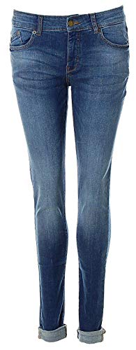 Q/S designed by - s.Oliver Damen Jeans Jeanshose Sadie super Slim fit/medium Rise/super Skinny Leg (Blue Denim, 38 / L32)