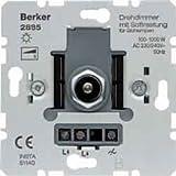 BERKER 2885 Dimmer Dreh/Druckken 100-1000W UP