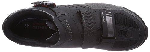 Shimano Erwachsene MTB Schuhe SPD SH 163 Schwarz (Black)