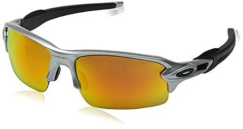 Oakley Sunglasses Flak 2.0 Silver silberfarben/schwarz Size:One