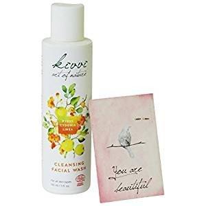 KIVVI - Sanfte Reinigung für jeden Hauttyp Quitte, Aloe Vera und Kamille Extrakte