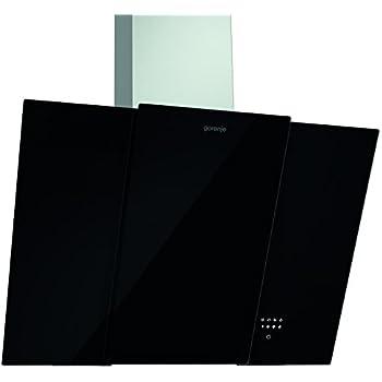 Gorenje DVG8565X Wandhaube / EEK B / 80 cm / schwarz / Edelstahl / TouchControl-Bedienung