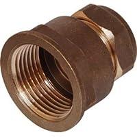 Compressione accoppiatore femmina 15mm x 1/5,1cm, 10pezzi
