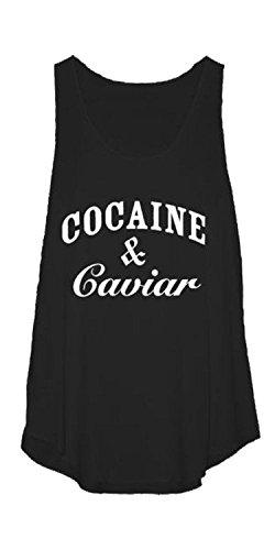 Women Cocaine Caviar Vest Top Plus Size