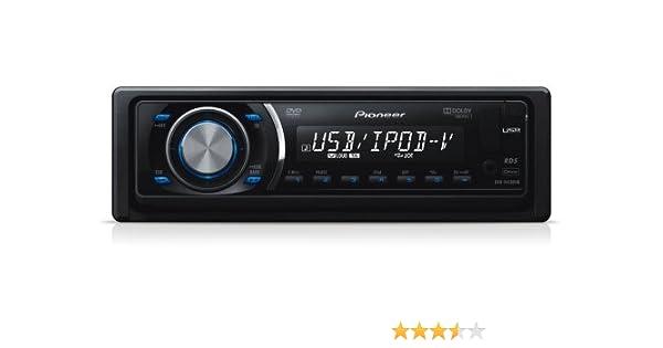 Pioneer DVH-P4100UB 1-DIN DVD-Tuner: Amazon.de: Elektronik